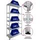 Металлические стеллажи архивные универсальные СТФУ (200 кг на полку)
